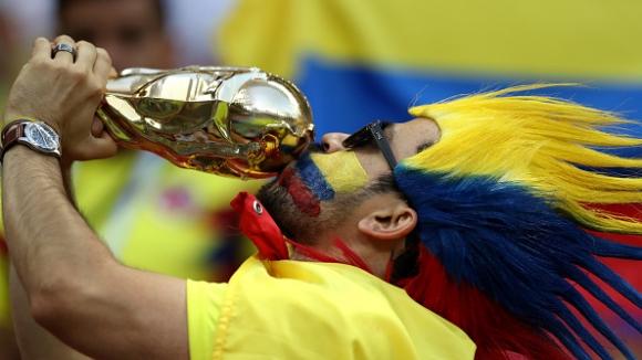 Еуфория по колумбийски след 3:0 над Полша