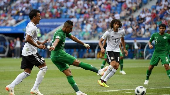 Салем Ал-Досари шокира Египет в последната минута, Саудитска Арабия победи африканците
