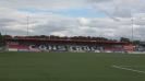 """Стадион """"Сийвю"""", където ще играят """"орлите"""" в Белфаст"""