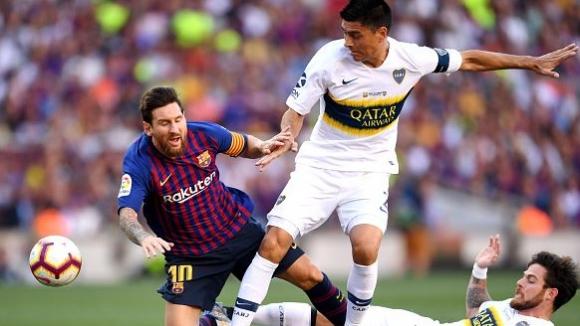 18' Барселона - Бока Хуниорс 1:0