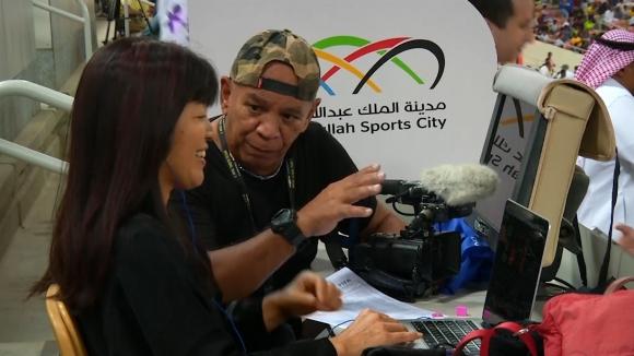 Японка стана първата жена, която отразява футболен мач в Саудитска Арабия