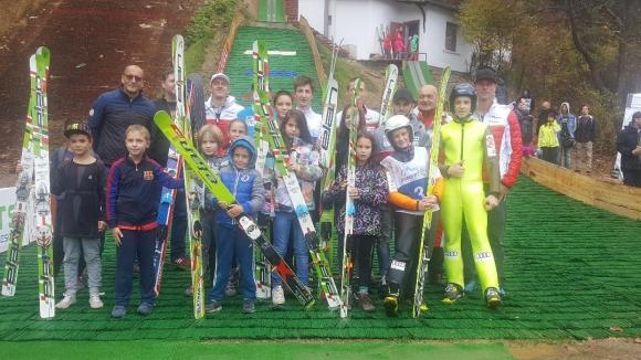 Откриха обновена ски шанца в Самоков