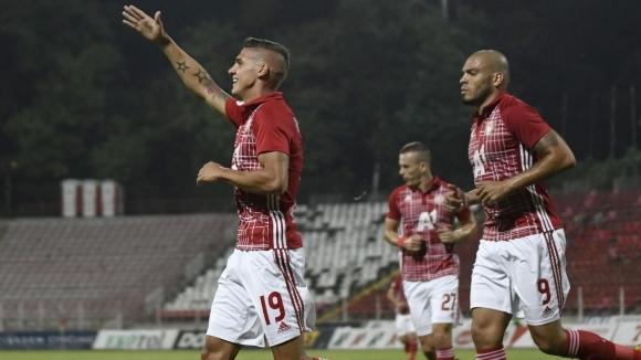 Десподов направи резултата 3:0 в полза на ЦСКА-София