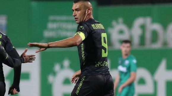 Фантастичен Камбуров изведе Берое напред в резултата с втория си гол
