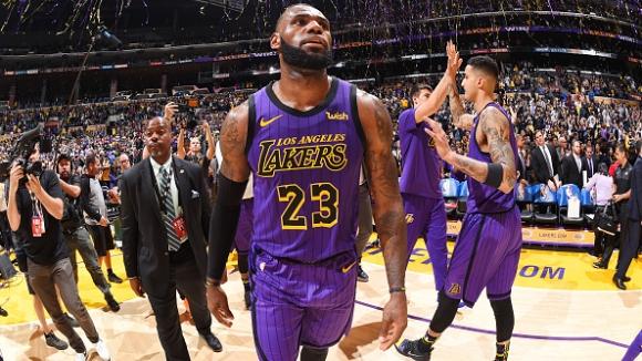 Леброн Джеймс вече е пети във вечната ранглиста на НБА
