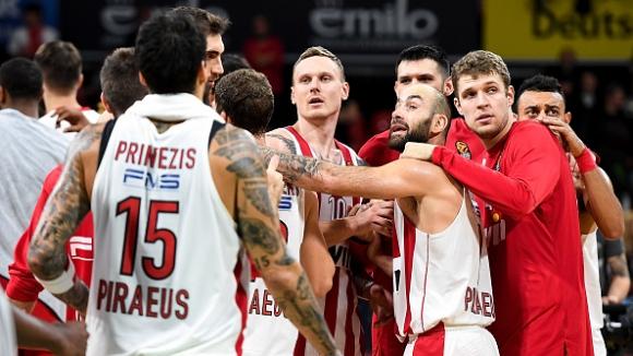 Олимпиакос и Везенков се върнаха към победите в Евролигата
