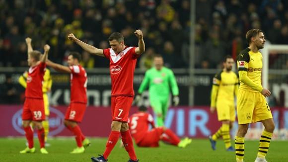 Шокираща загуба за Борусия (Дортмунд) в Бундеслигата