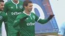 Шверчок вкара във вратата на Дунав и Лудогорец поведе в Русе