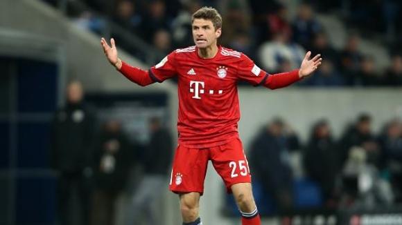 Байерн стартира пролетния полусезон с победа над Хофенхайм и се долближи на три точки от лидера Борусия Дортмунд