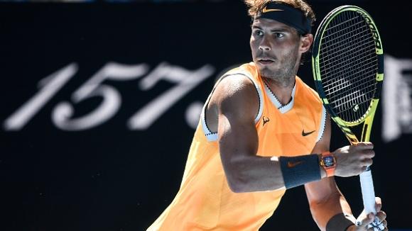 Рафаел Надал се справи с Бердих и отново е на четвъртфинал в Мелбърн