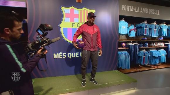 Кевин-Принс Боатенг официално премина в Барселона до края на сезона