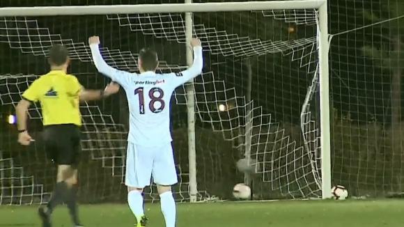 Клуж успя да вкара втори гол на Лудогорец чрез Ганеа