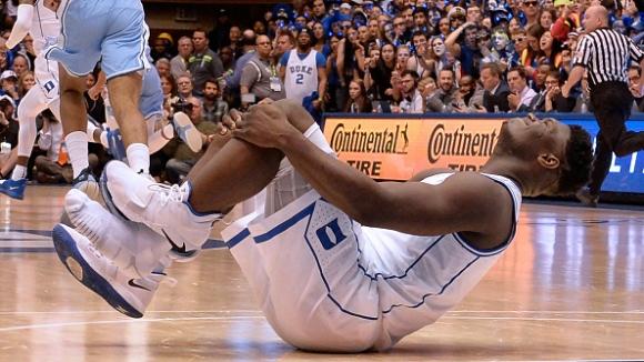 Обувка причини контузия на бъдещия №1 в драфта на NBA