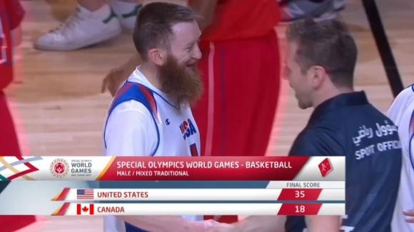 Страхотен кош на американец на Спешъл Олимпикс