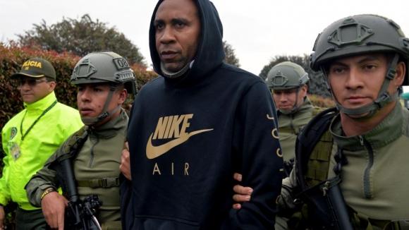 Бивш колумбийски национал бе арестуван за наркоразпространение