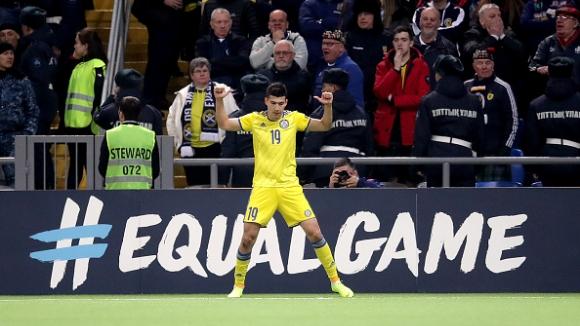 Казахстан - Шотландия 3:0