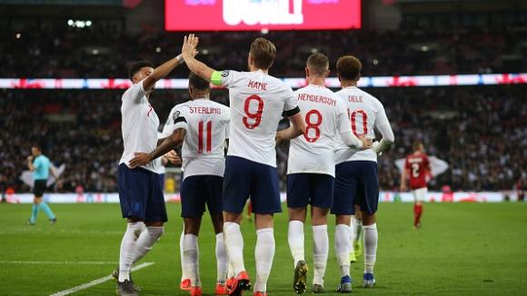 Англия - Чехия 5:0
