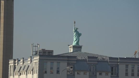 Статуята на Свободата посрещна националите в Прищина