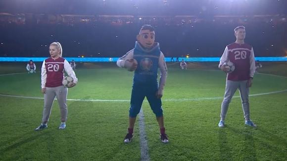 Представиха талисмана на Евро 2020