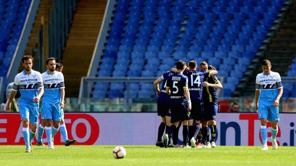 "Киево победи десет от Лацио с 1:2 на ""Олимпико"""