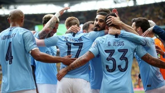 Манчестър Сити разгроми Уотфорд на финала за ФА Къп