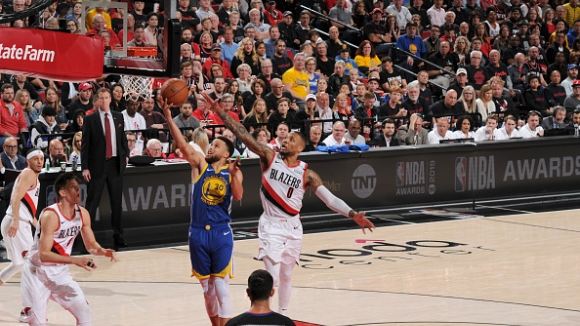 Голдън стейт на крачка от нов финал в НБА