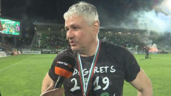 Стойчо Стоев за титлата: Беше много трудно, но сега е по-сладко