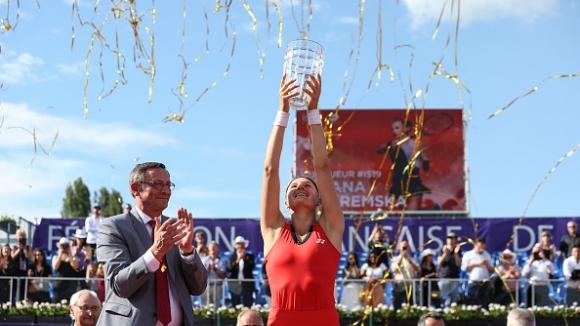 Ястремска спечели турнира в Страсбург
