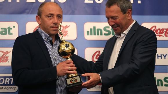 Илиан Илиев е №1 сред треньорите за сезон 2018-2019 година