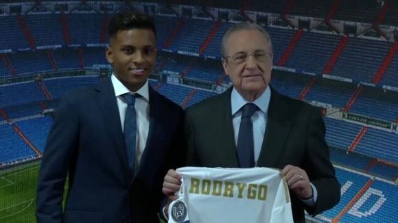 Реал представи Родриго