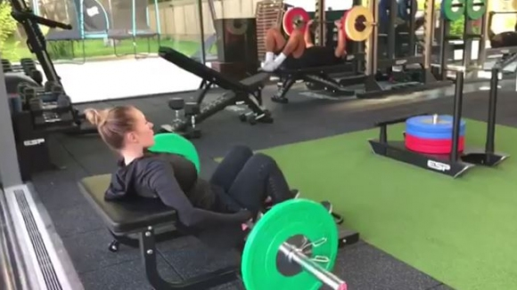 Рио Фърдинанд и годеницата му тренират усилено