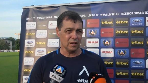 Хубчев: Радвам се, че играчите не бяха респектирани от Зенит