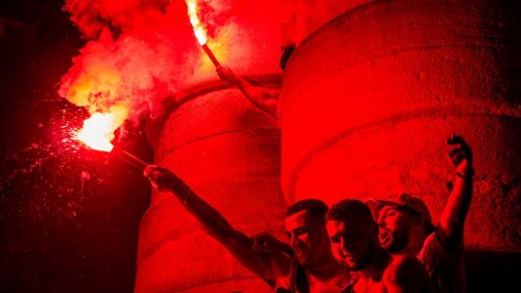 Големи празненства в Алжир след успеха
