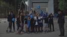 Греещи детски лица след победата на Левски