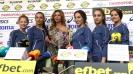 """""""Златните момичета"""" и Весела Димитрова са отбор и треньор на месец юни"""