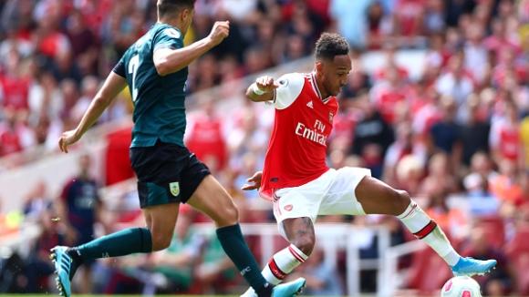 43' Арсенал - Бърнли 1:1