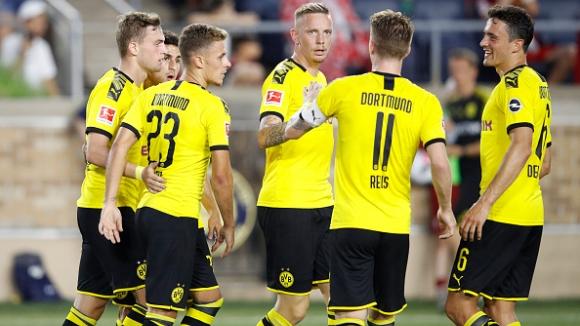 Ударно начало за Дортмунд в Бундеслигата