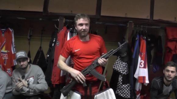 Ставаш играч на мача в Русия, получаваш Калашников