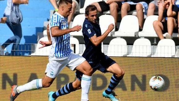 Лацио спря да играе и получи неочакван удар