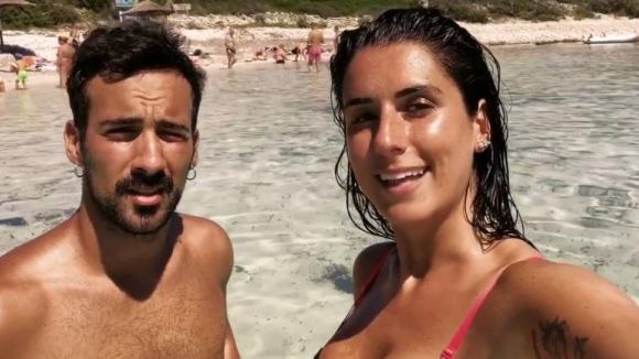 Валентина Виняли показа на своите фенове почивката си в Хърватия