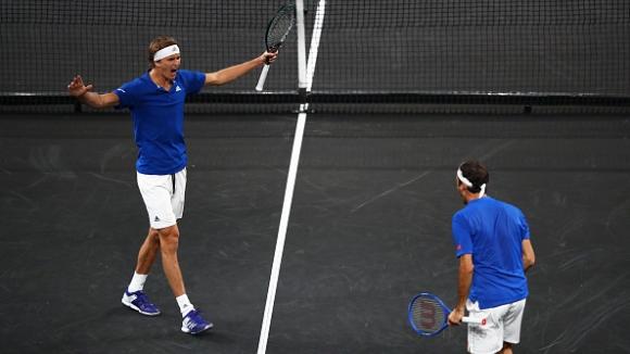 Тандемът между Федерер и Зверев сработи перфектно
