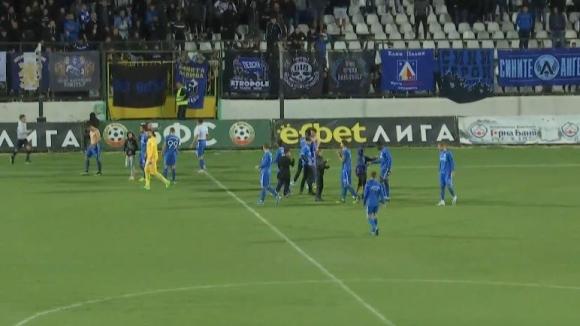 Радост за ''сините'' след победата над Славия