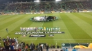 Химнът на Лига Европа ехти на стадиона в Разград