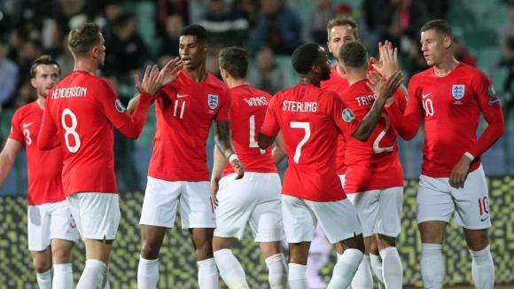 България - Англия 0:6