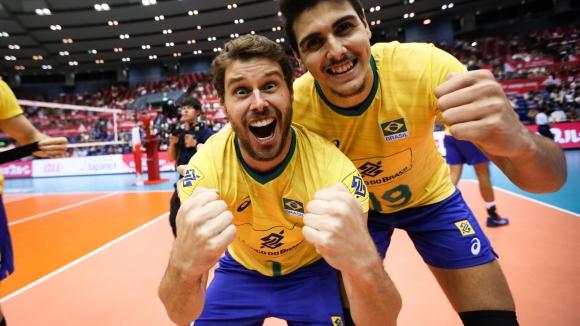 """Велика Бразилия! """"Селесао"""" с 11-а победа в 11 мача на турнира на Световната купа"""