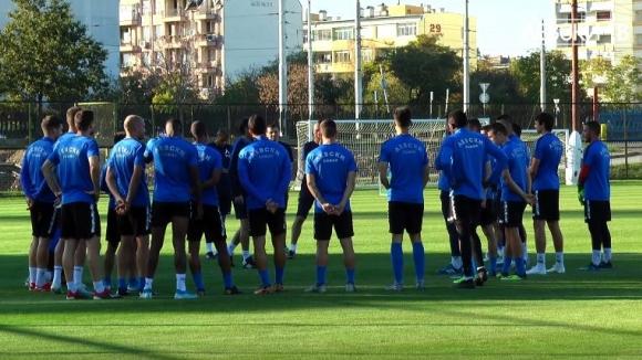 Левски започна подготовка за мача с Арда