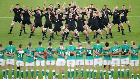 Нова Зеландия прегази Ирландия и е на полуфиналите на световното по ръгби