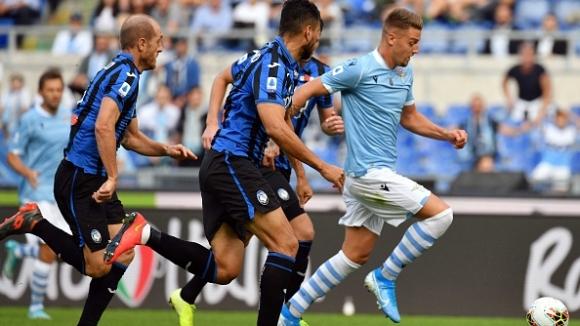 Лацио издрапа до реми с Аталанта след три гола пасив на почивката