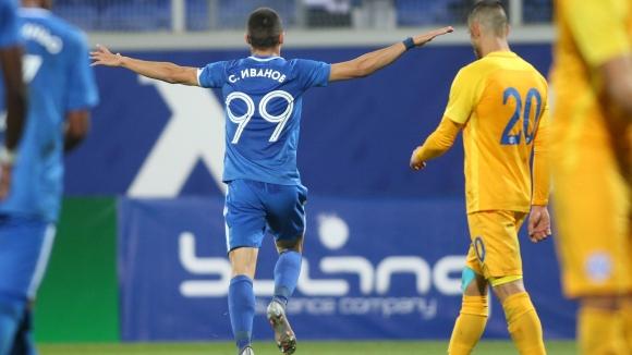 Станислав Иванов удвои резултата за Левски срещу Арда
