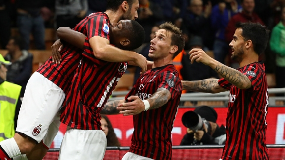 Пиоли дебютира с равенство начело на Милан